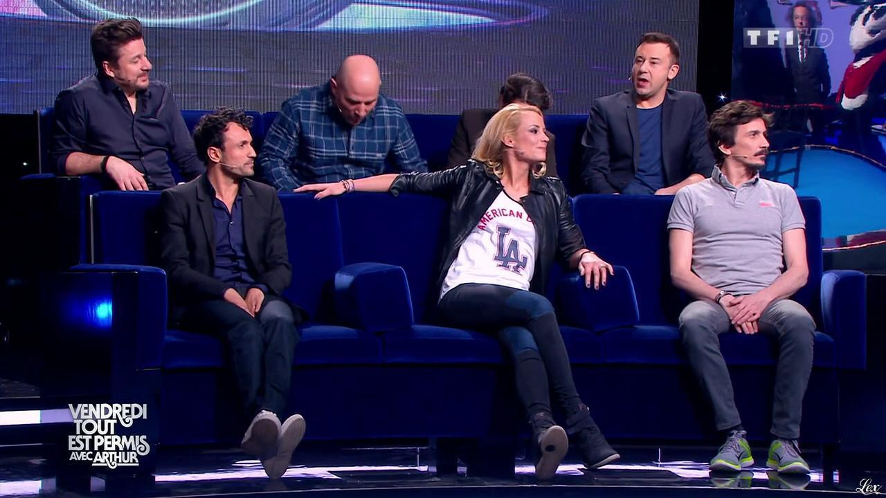 Elodie Gossuin dans Vendredi, Tout Est Permis. Diffusé à la télévision le 10/04/15.