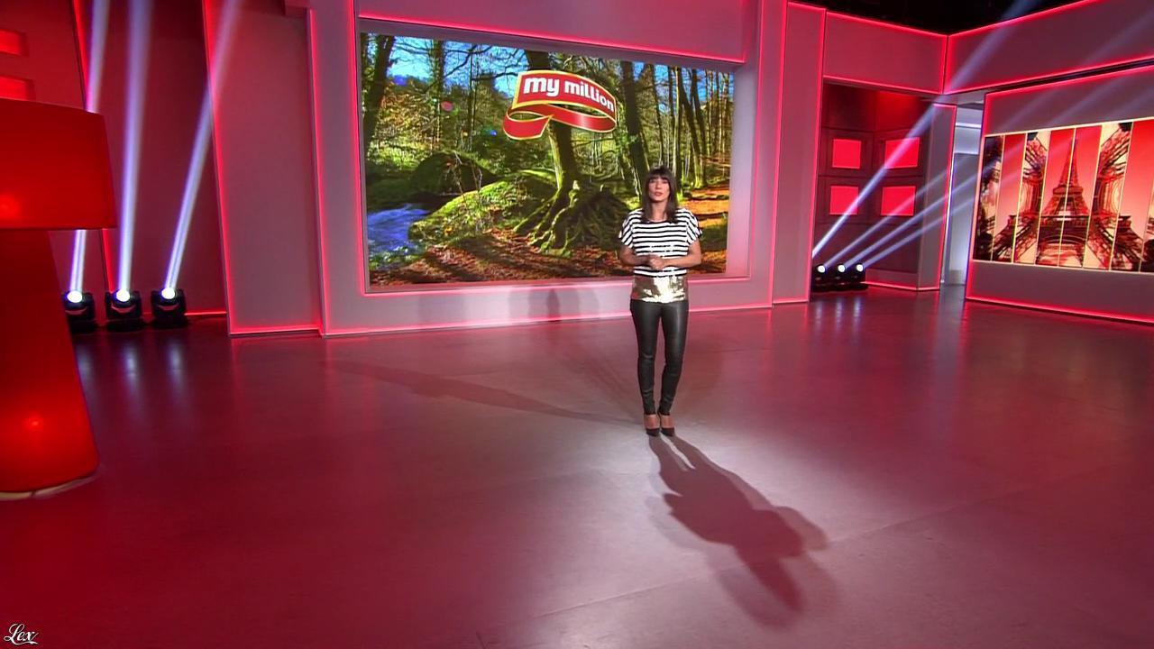 Estelle Denis dans My Million. Diffusé à la télévision le 17/04/15.