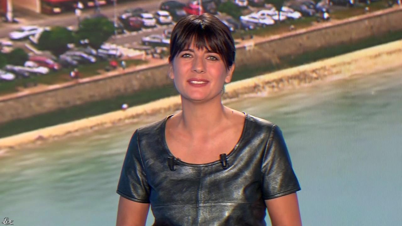 Estelle Denis lors du Tirage du Loto. Diffusé à la télévision le 18/04/15.