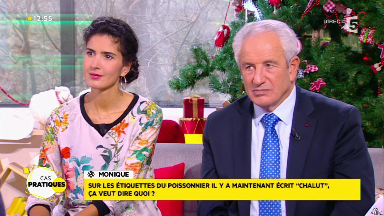 Farida Foodista dans la Quotidienne. Diffusé à la télévision le 11/12/14.