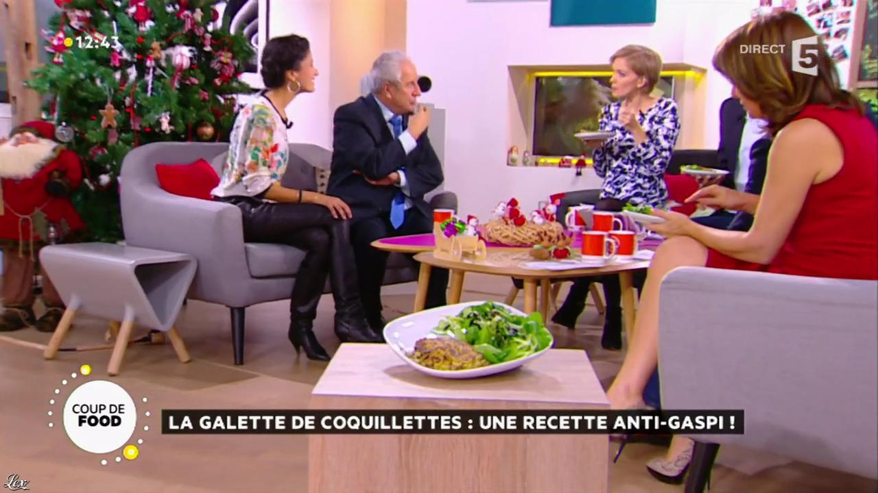 Farida Foodista et Valérie Durier dans la Quotidienne. Diffusé à la télévision le 11/12/14.