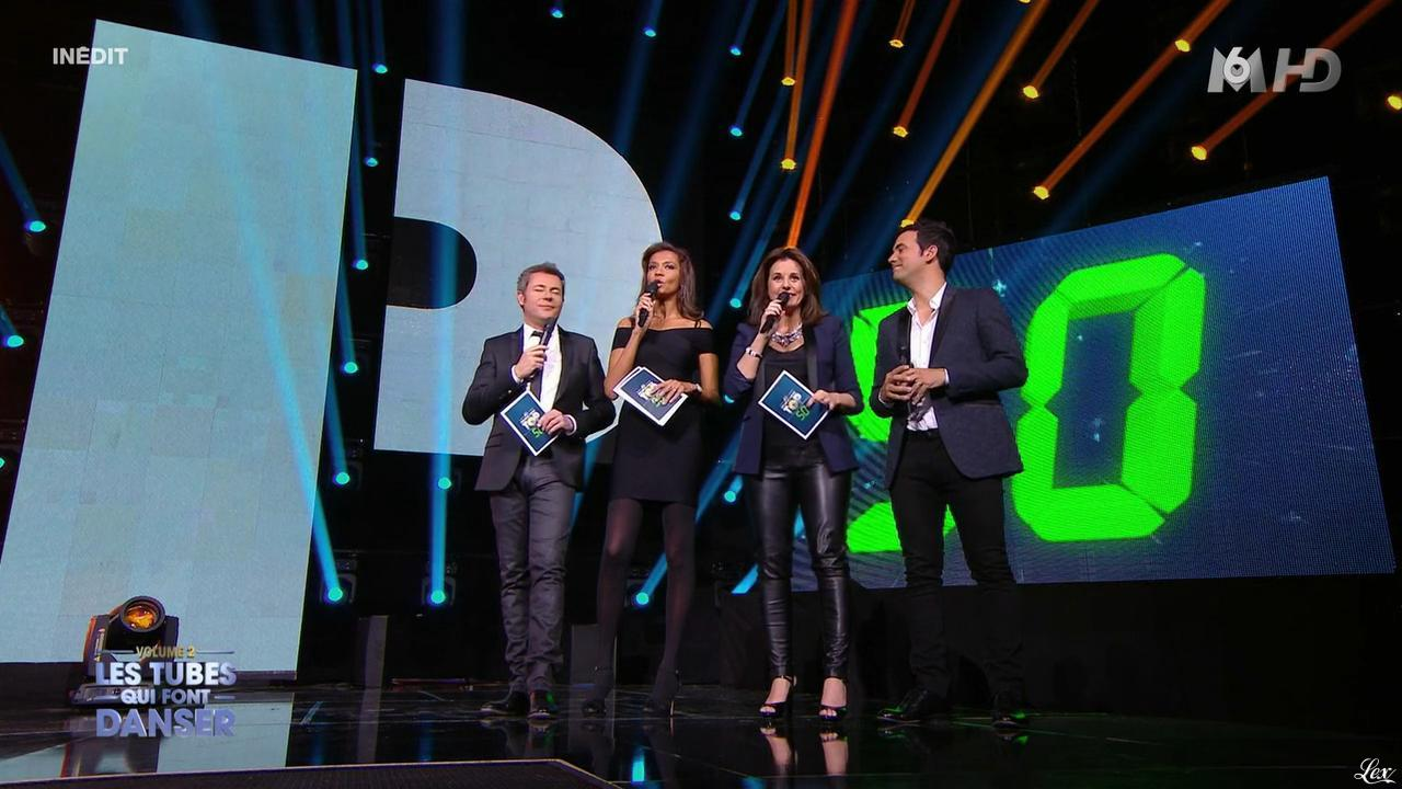 Faustine Bollaert et Karine Le Marchand dans M6 Fête les 30 Ans du Top 50. Diffusé à la télévision le 29/04/15.