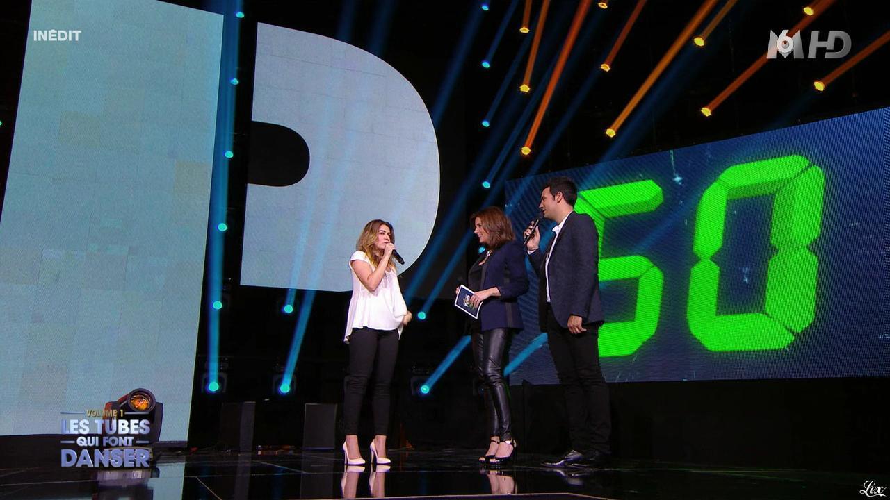 Faustine Bollaert dans M6 Fête les 30 Ans du Top 50. Diffusé à la télévision le 22/04/15.