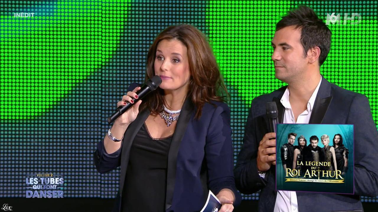 Faustine Bollaert dans M6 Fête les 30 Ans du Top 50. Diffusé à la télévision le 29/04/15.