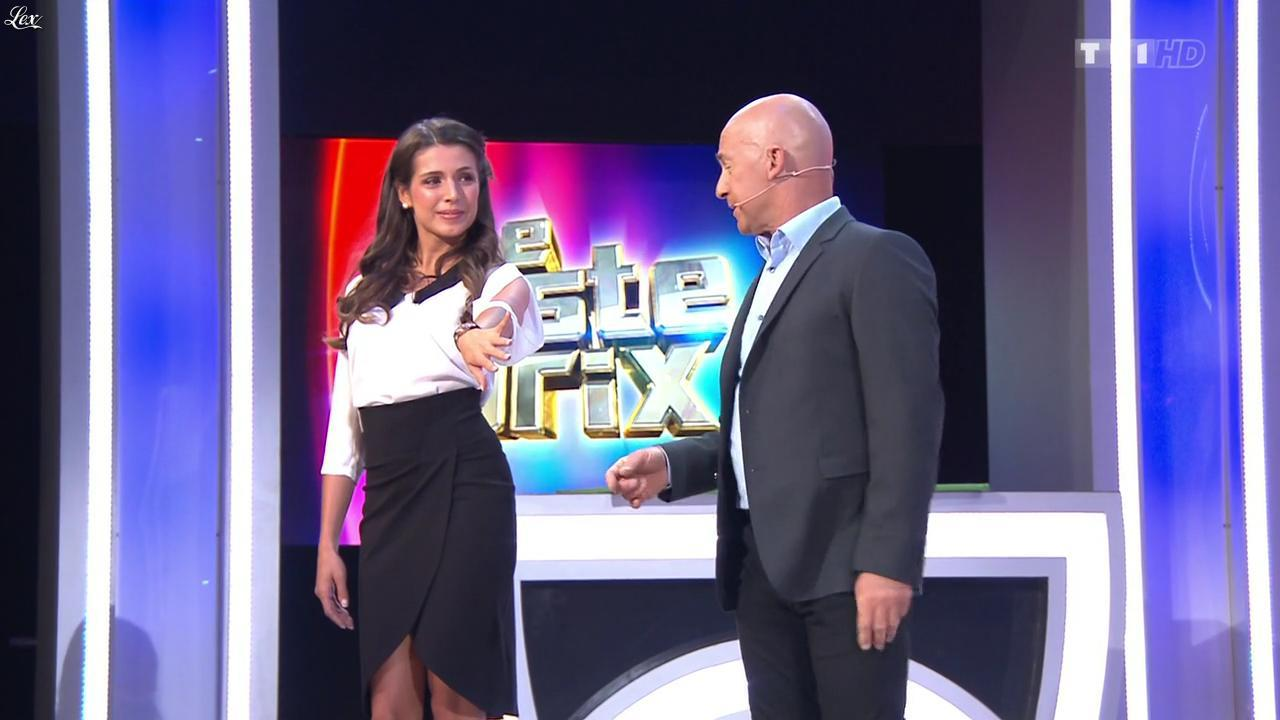 Alice Llenas dans le Juste Prix. Diffusé à la télévision le 30/01/15.
