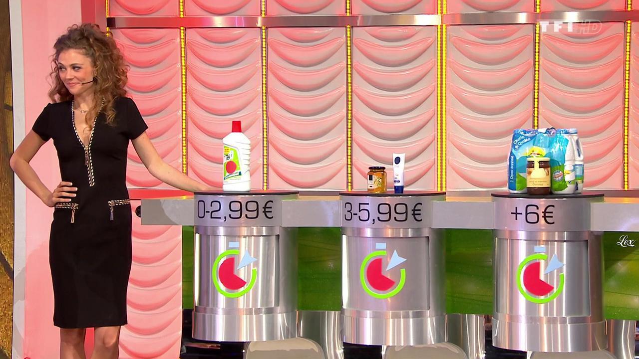 Cyrielle Joelle dans le Juste Prix. Diffusé à la télévision le 30/01/15.