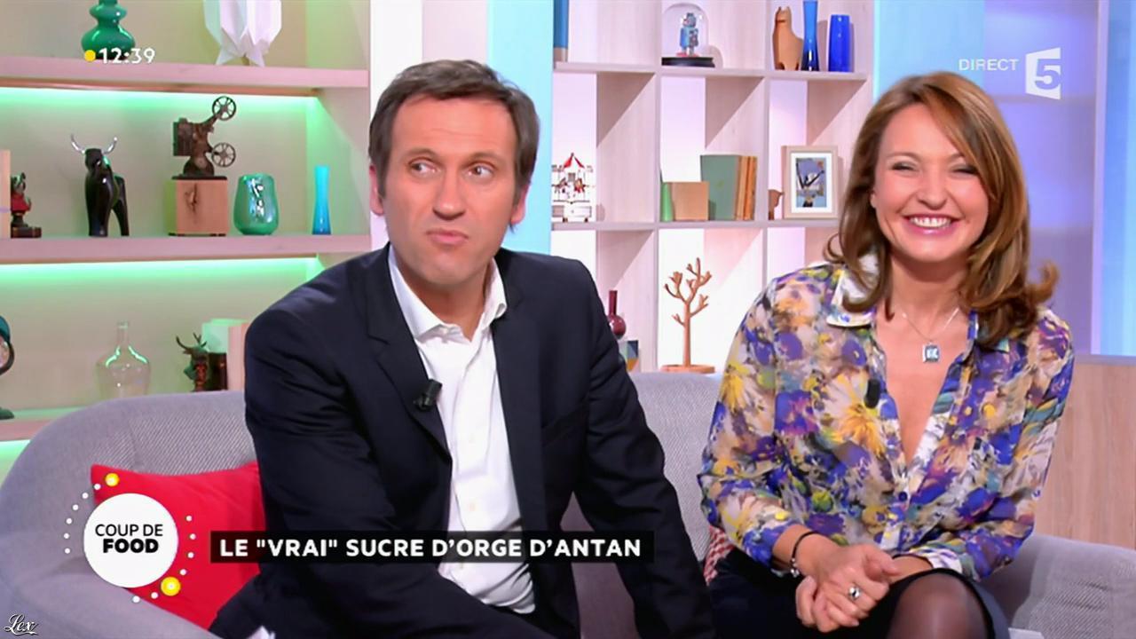 Valérie Durier dans la Quotidienne. Diffusé à la télévision le 03/02/15.