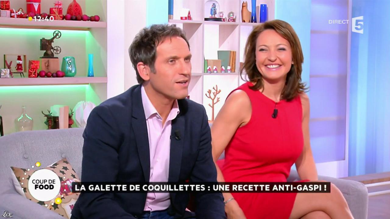 Valérie Durier dans la Quotidienne. Diffusé à la télévision le 11/12/14.