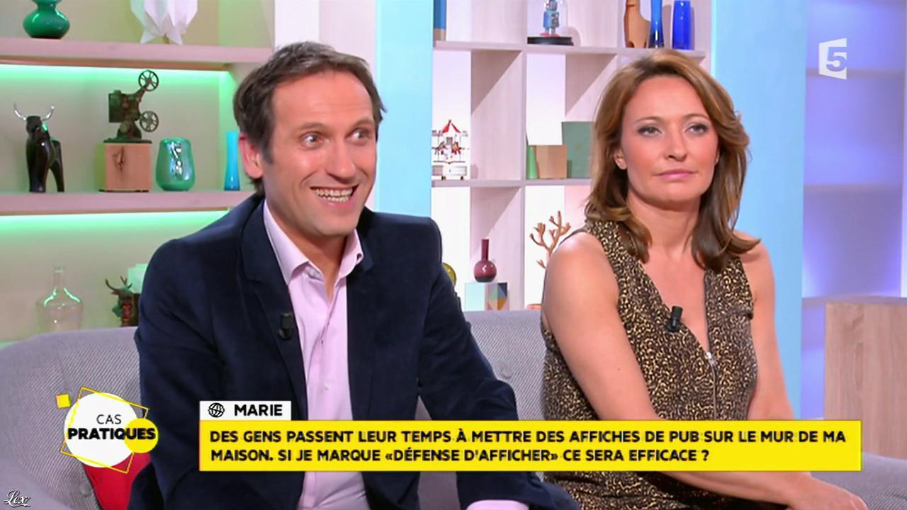 Valérie Durier dans la Quotidienne. Diffusé à la télévision le 23/01/15.