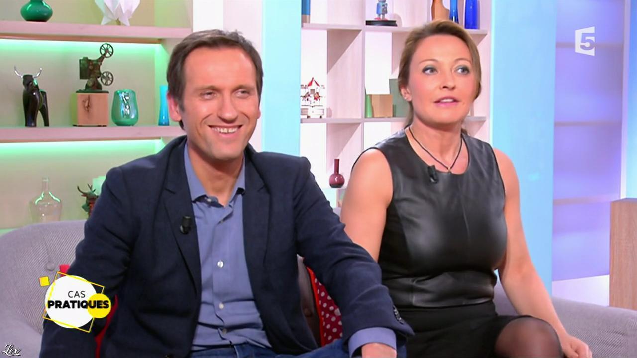 Valérie Durier dans la Quotidienne. Diffusé à la télévision le 26/01/15.