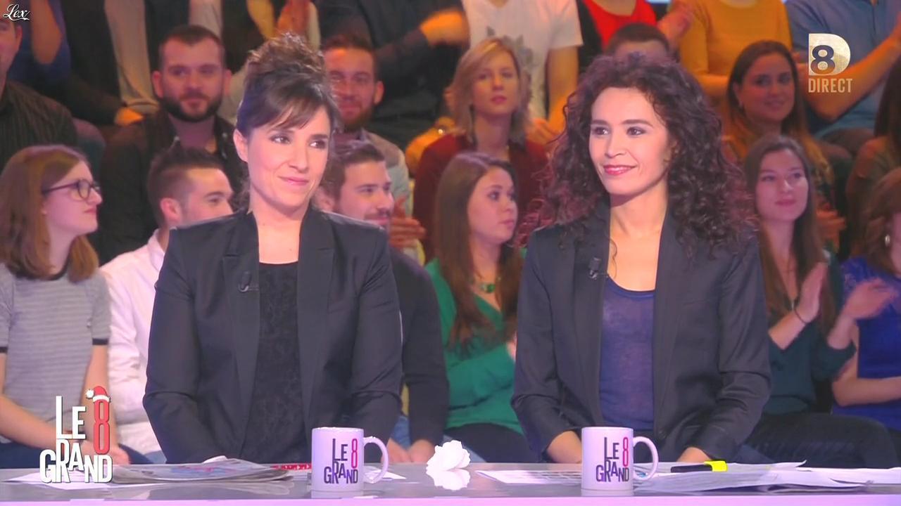 Aïda Touihri dans le Grand 8. Diffusé à la télévision le 14/12/15.