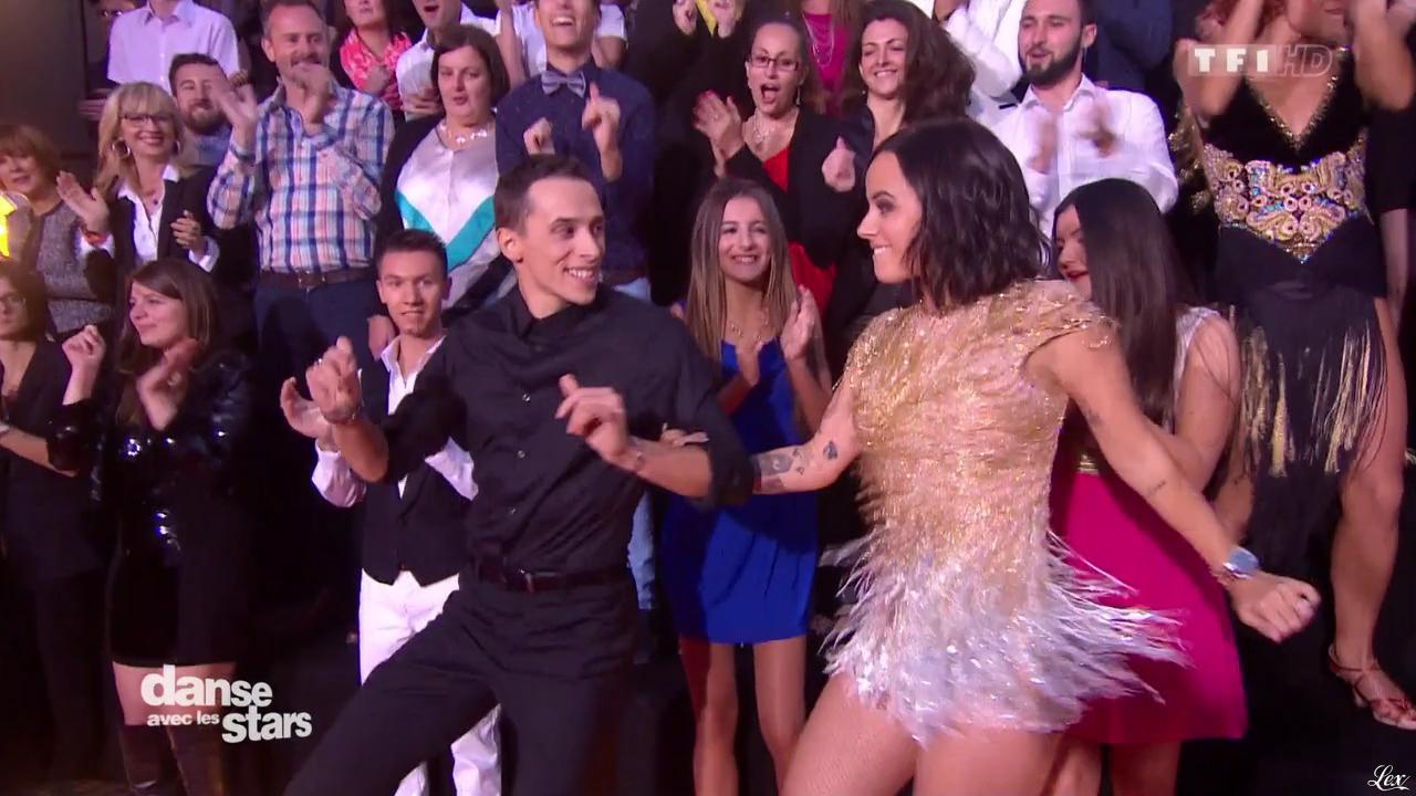 Alizée dans Danse avec les Stars. Diffusé à la télévision le 24/10/15.
