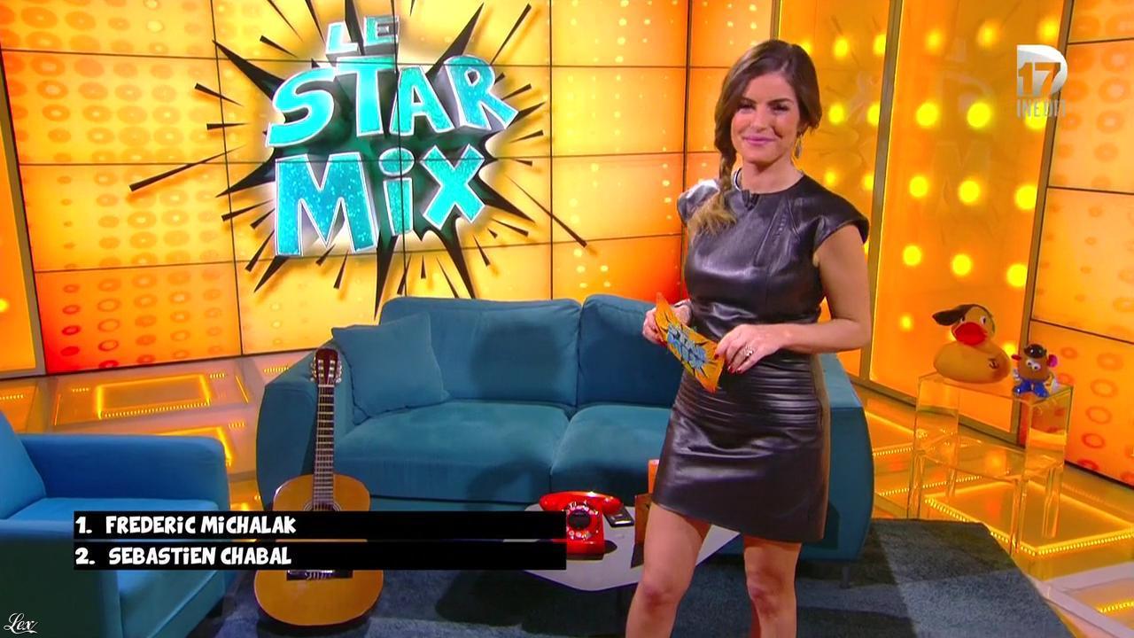 Amélie Bitoun dans le Starmix. Diffusé à la télévision le 26/03/16.
