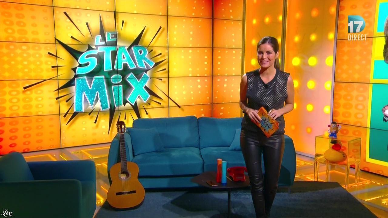 Amélie Bitoun dans le Starmix. Diffusé à la télévision le 16/01/16.