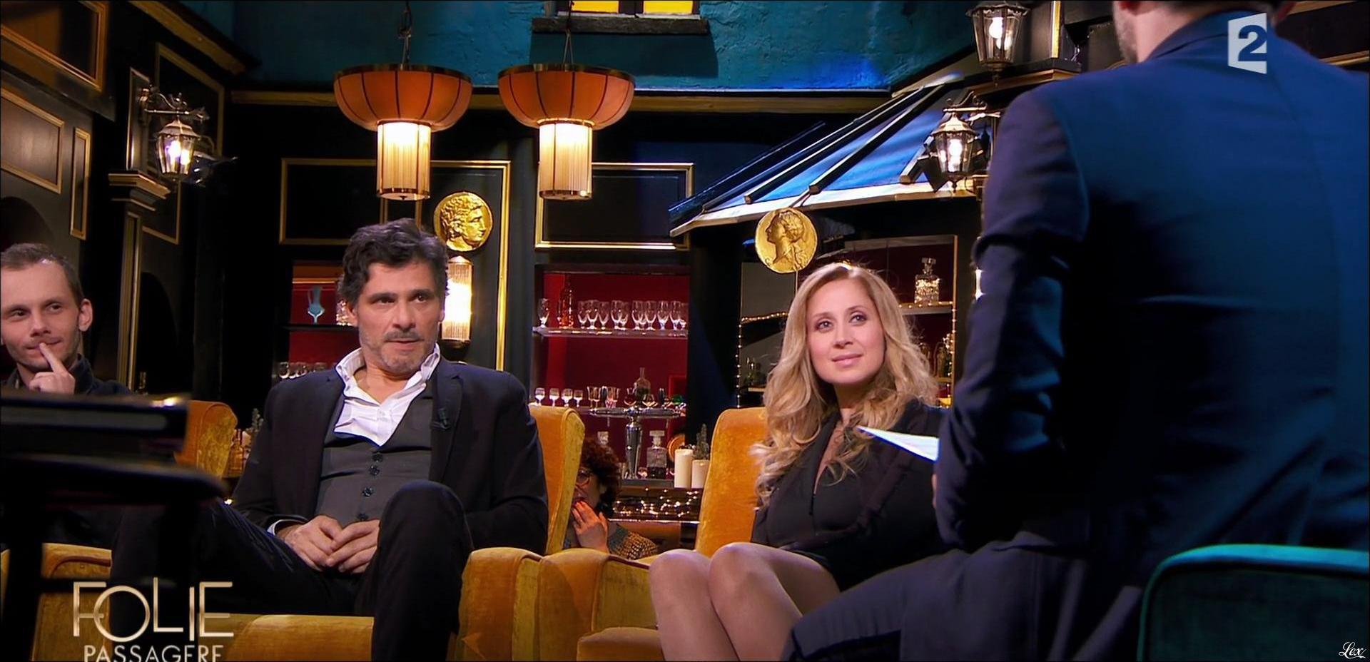 Lara Fabian dans Folie Passagere. Diffusé à la télévision le 16/12/15.