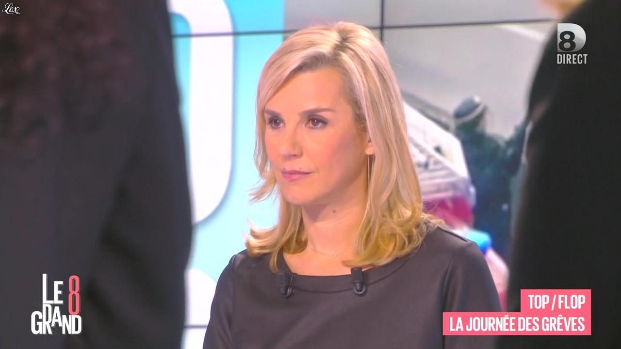 Laurence Ferrari dans le Grand 8. Diffusé à la télévision le 26/01/16.