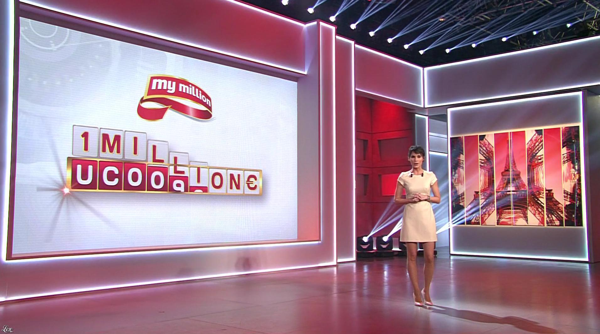Marion Jollès Grosjean dans My Million. Diffusé à la télévision le 15/04/16.