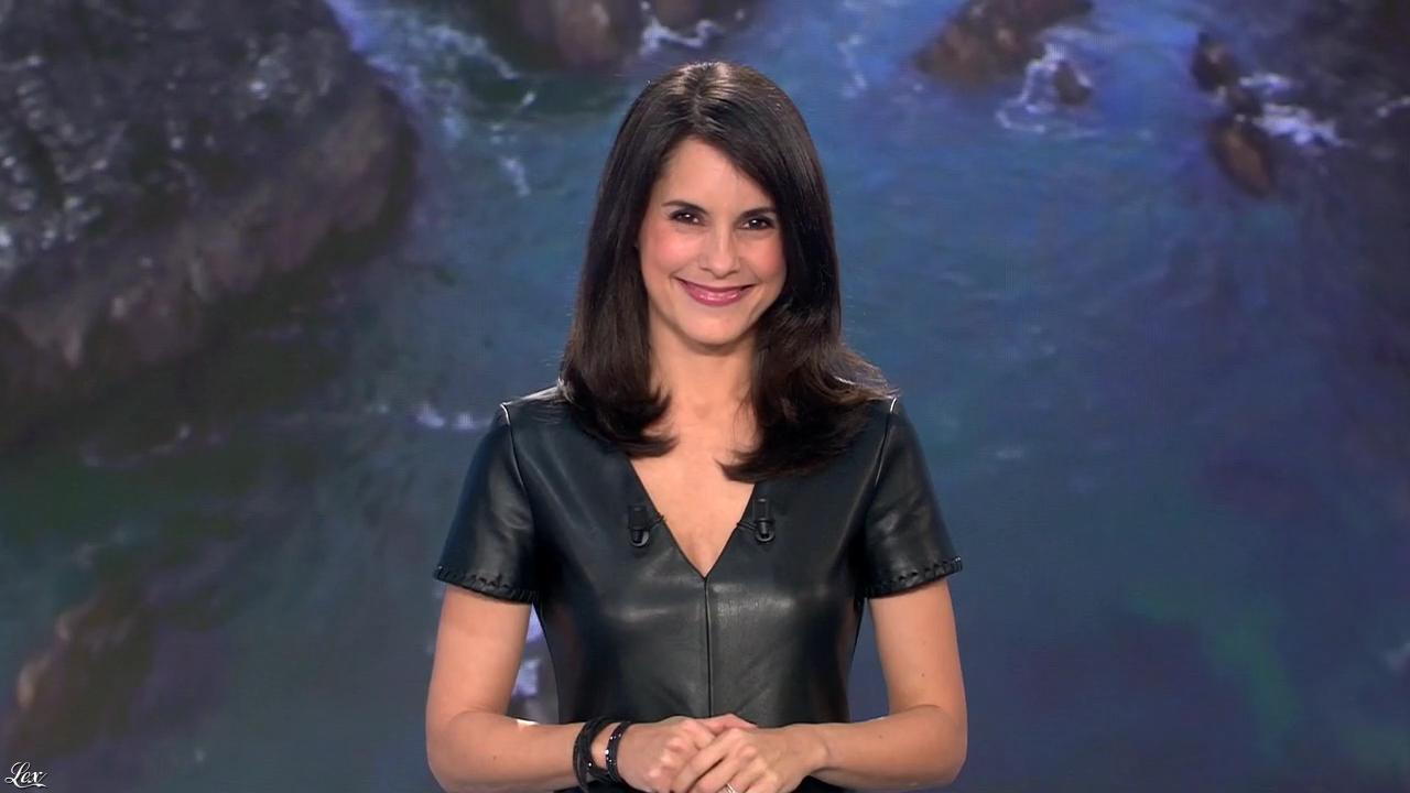 Marion Jollès Grosjean lors du Tirage du Loto. Diffusé à la télévision le 21/10/15.