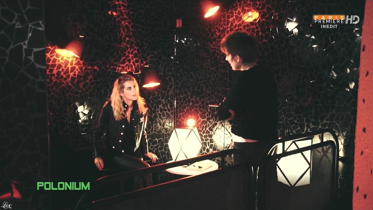 Natacha Polony et Pauline Escande Gauquie dans Polonium. Diffusé à la télévision le 06/11/15.