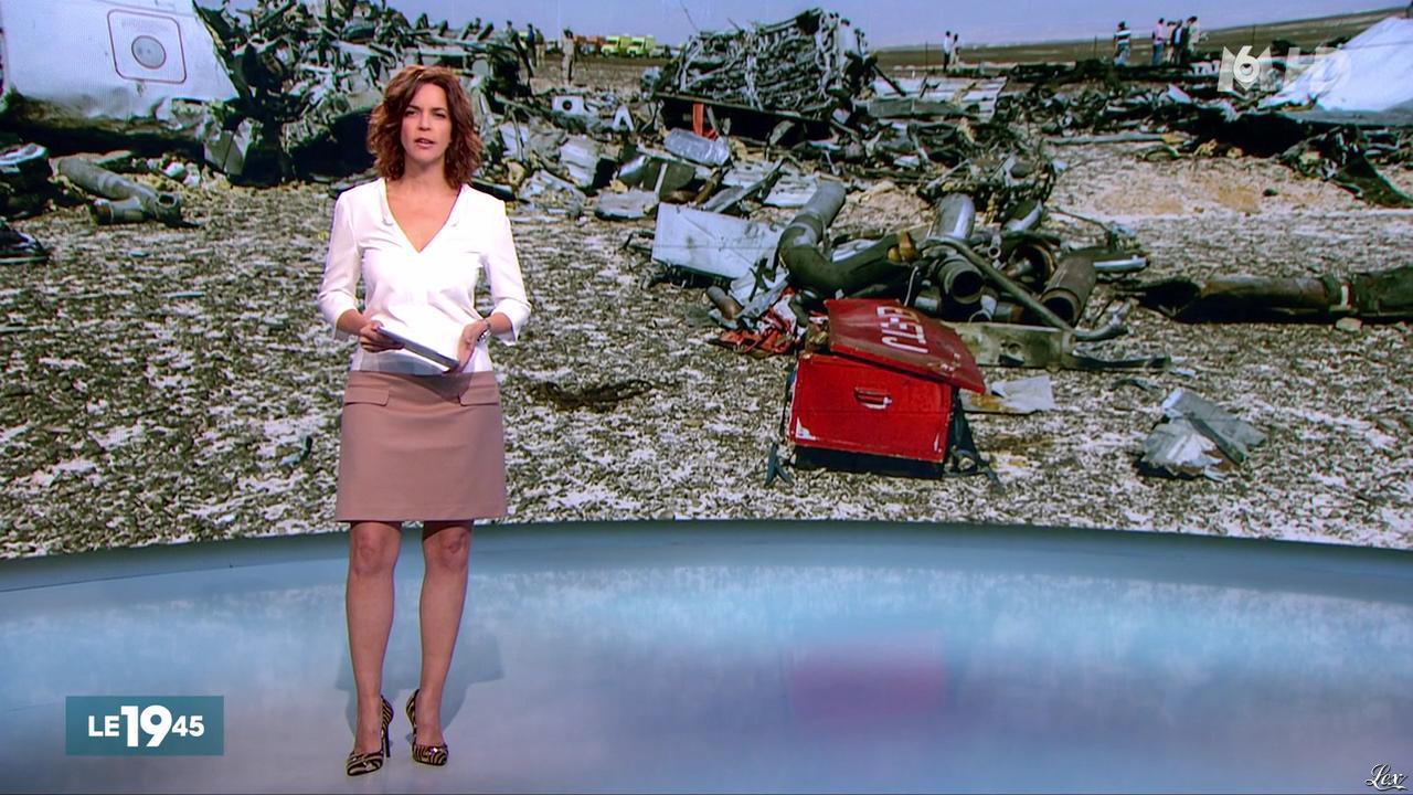 Nathalie Renoux dans le 19-45. Diffusé à la télévision le 06/11/15.