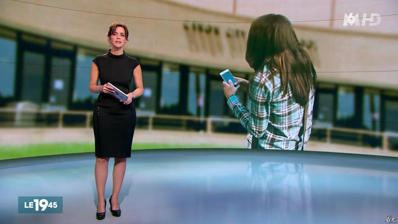 Nathalie Renoux dans le 19-45. Diffusé à la télévision le 07/11/15.