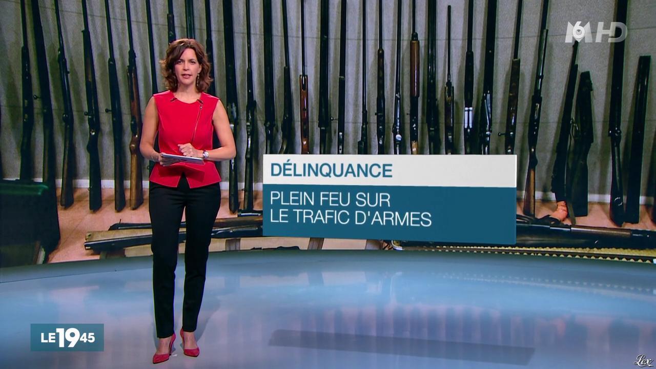 Nathalie Renoux dans le 19-45. Diffusé à la télévision le 13/11/15.