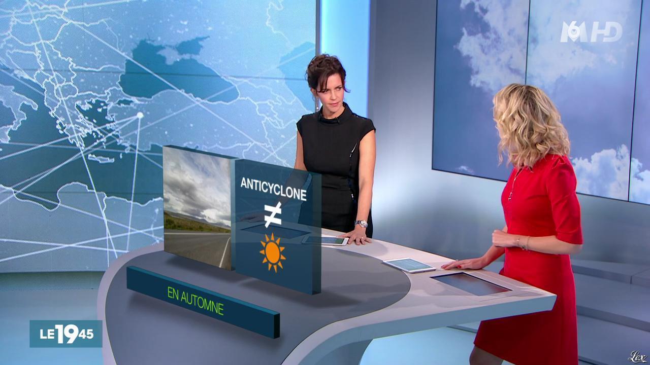 Nathalie Renoux et Vicky Bogaert dans le 19-45. Diffusé à la télévision le 07/11/15.