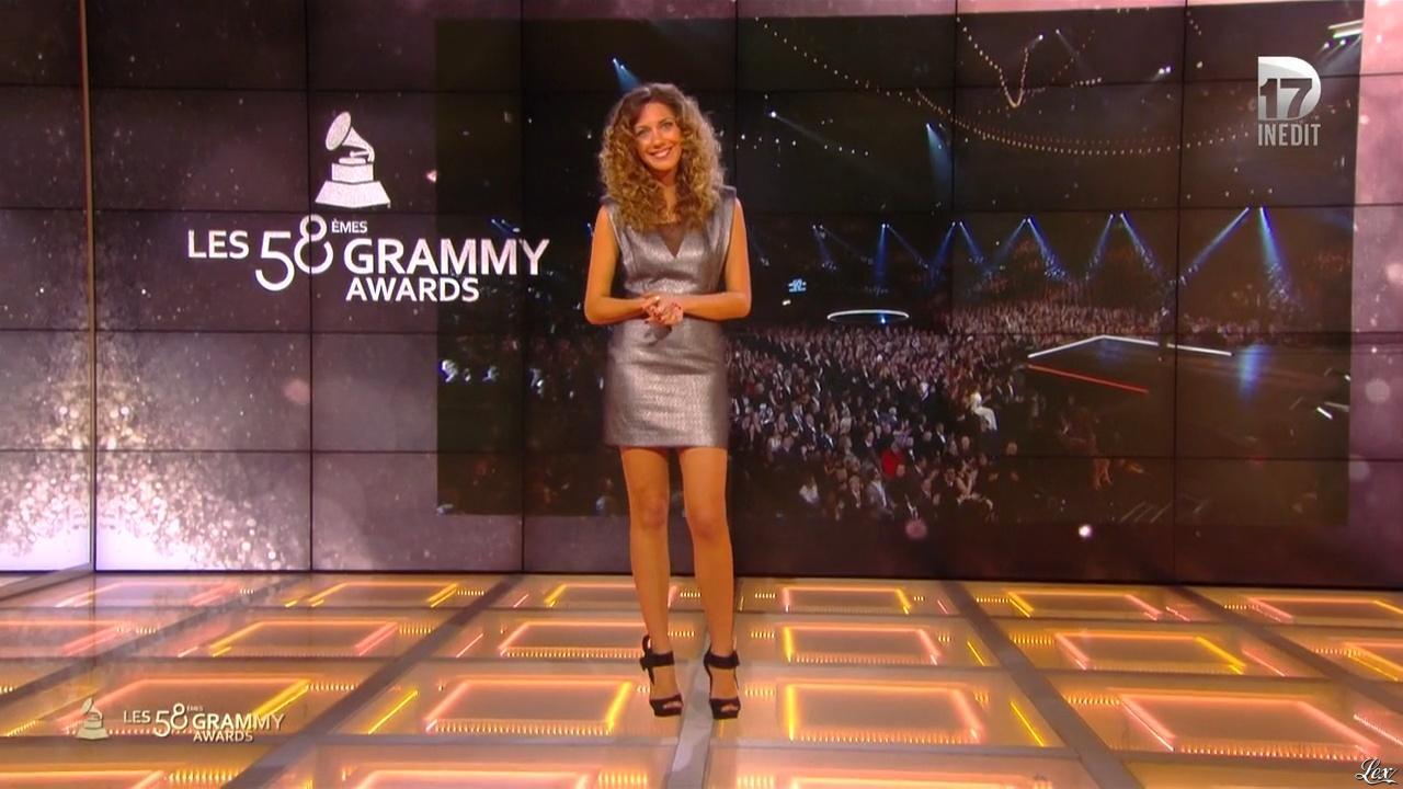 Salome Lagresle dans Grammy Awards. Diffusé à la télévision le 19/02/16.