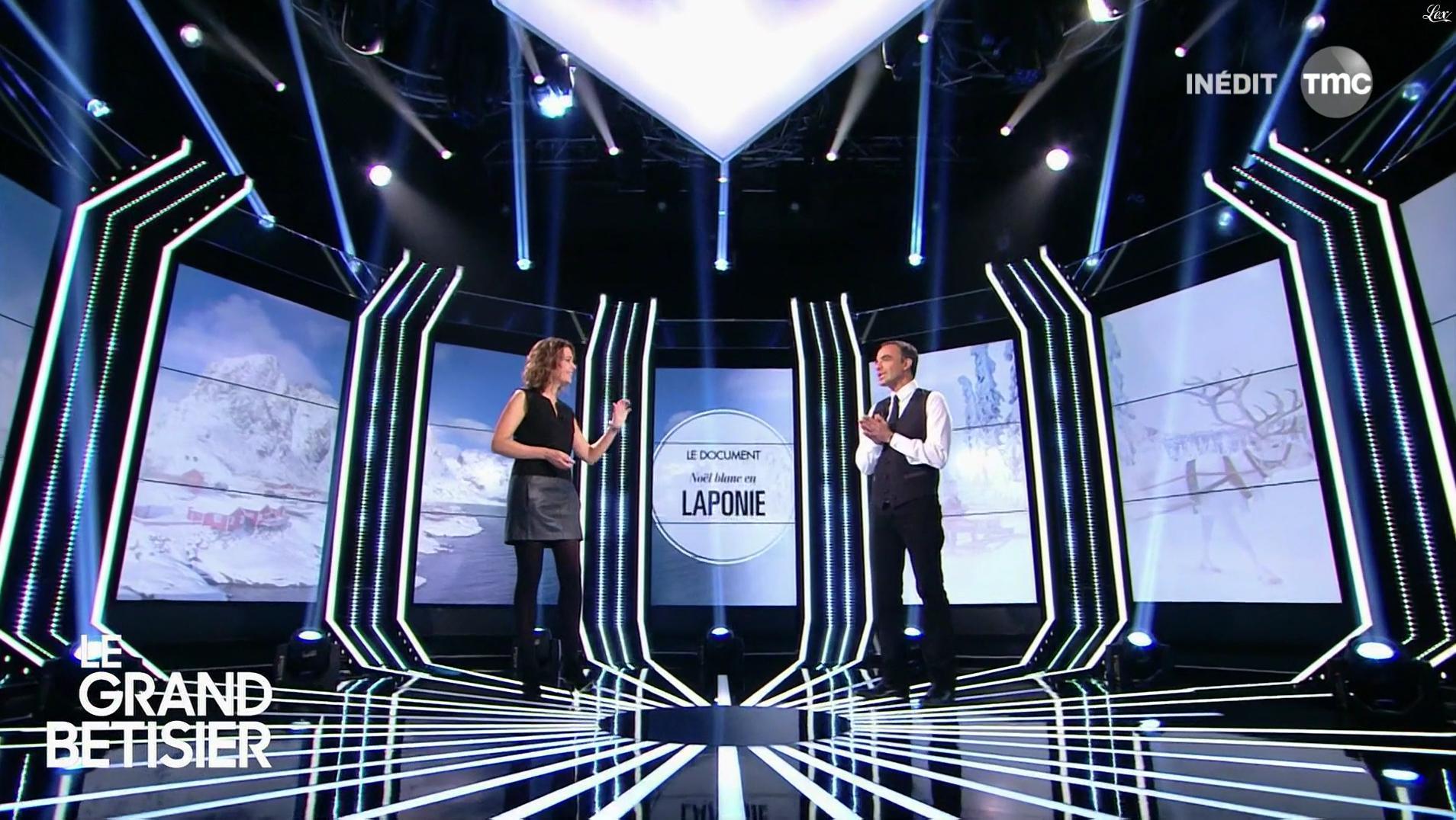 Sandrine Quétier dans le Grand Bêtisier de l'Hiver. Diffusé à la télévision le 19/04/16.