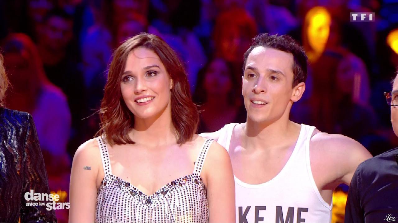 Camille Lou dans Danse avec les Stars. Diffusé à la télévision le 04/02/17.
