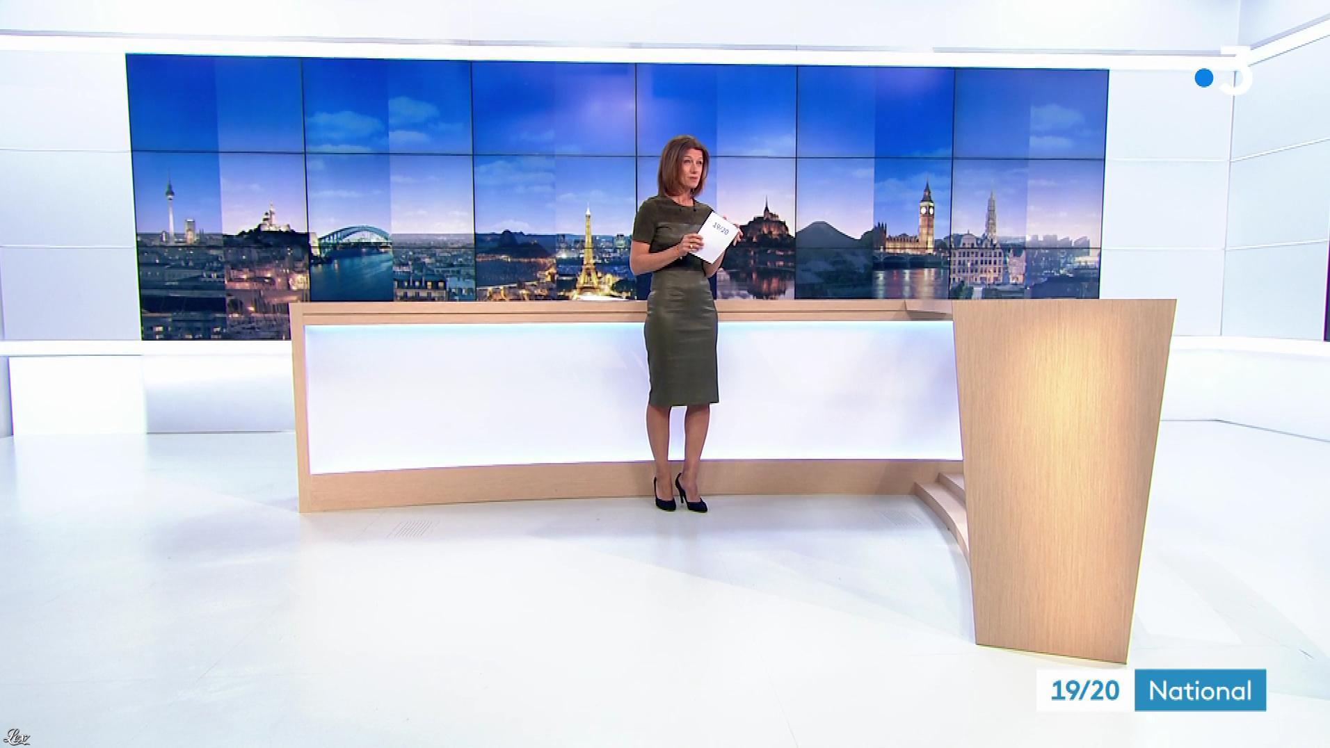 Carole Gaessler dans le 19 20. Diffusé à la télévision le 12/03/18.