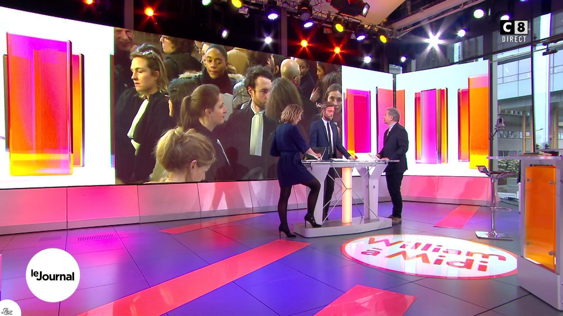 Caroline Delage dans William à Midi. Diffusé à la télévision le 15/02/18.
