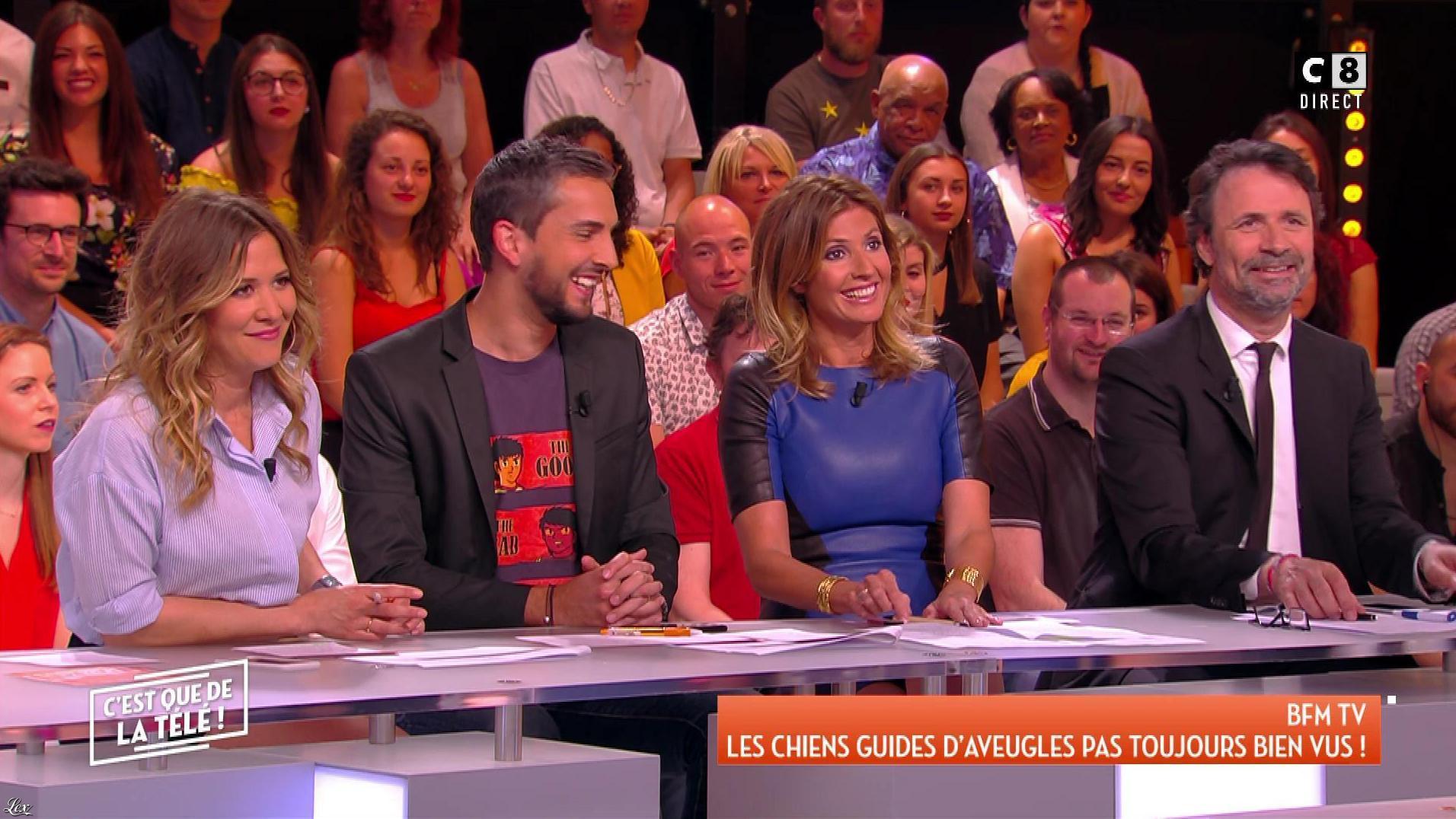 Caroline Ithurbide dans c'est Que de la Télé. Diffusé à la télévision le 24/05/18.