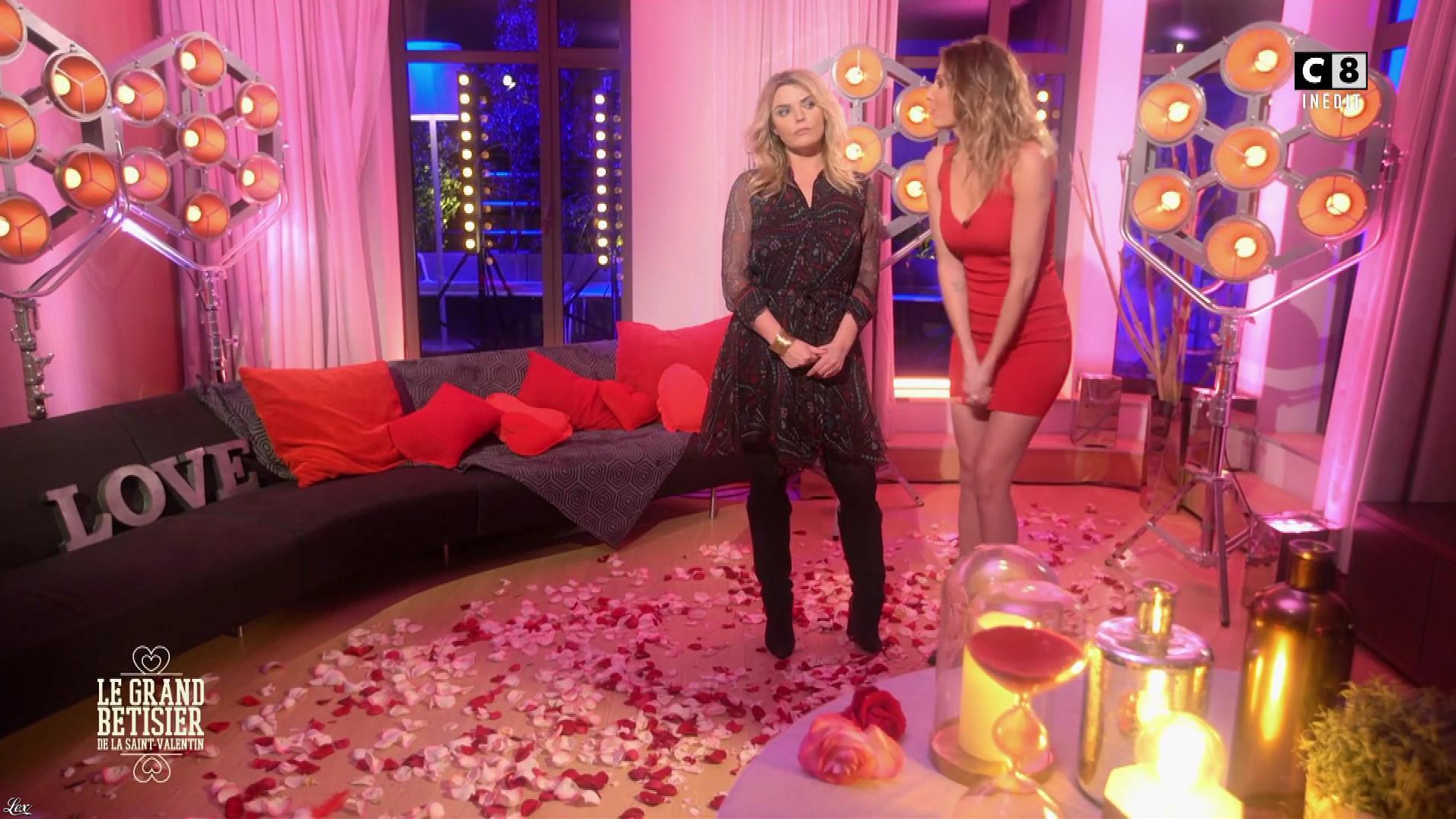 Caroline Ithurbide dans le Grand Bêtisier de la Saint Valentin. Diffusé à la télévision le 14/02/18.