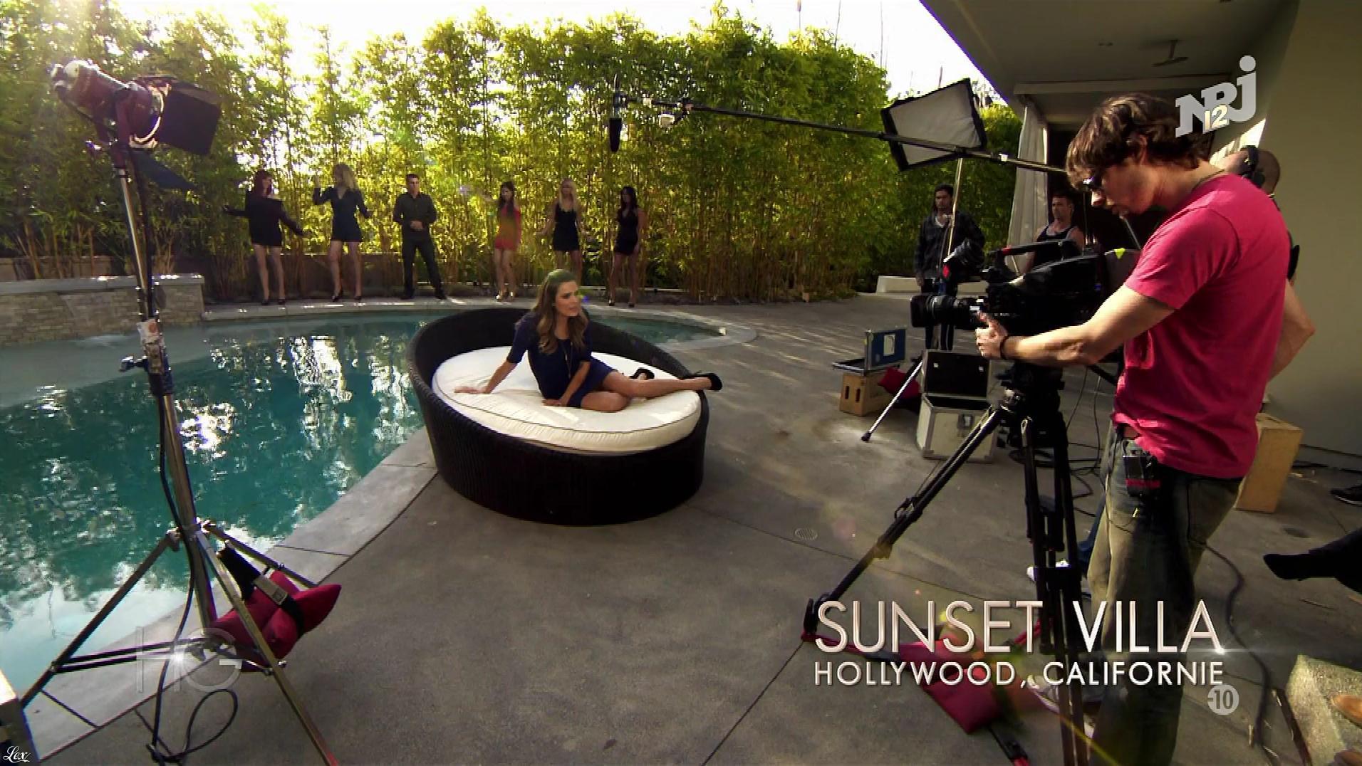 Clara Morgane dans Hollywood Girls. Diffusé à la télévision le 27/11/17.