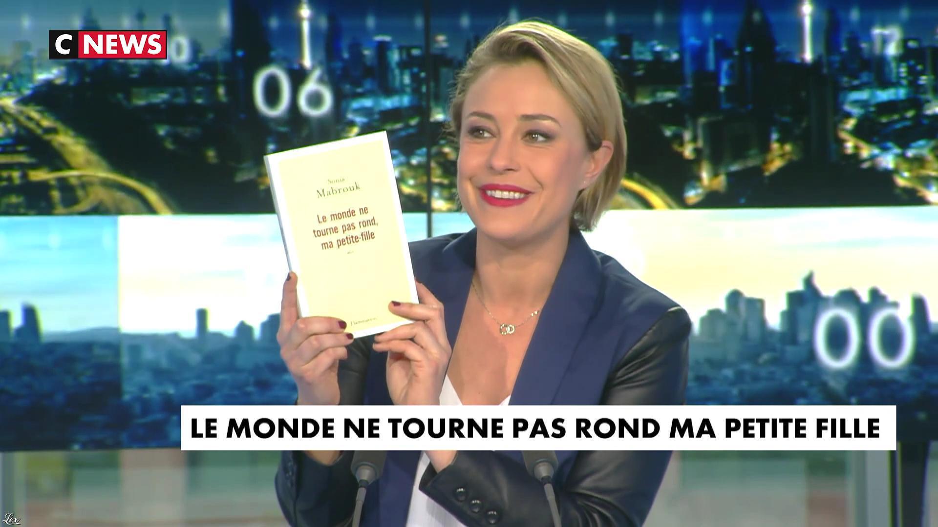 Isabelle Moreau dans la Newsroom. Diffusé à la télévision le 09/03/17.
