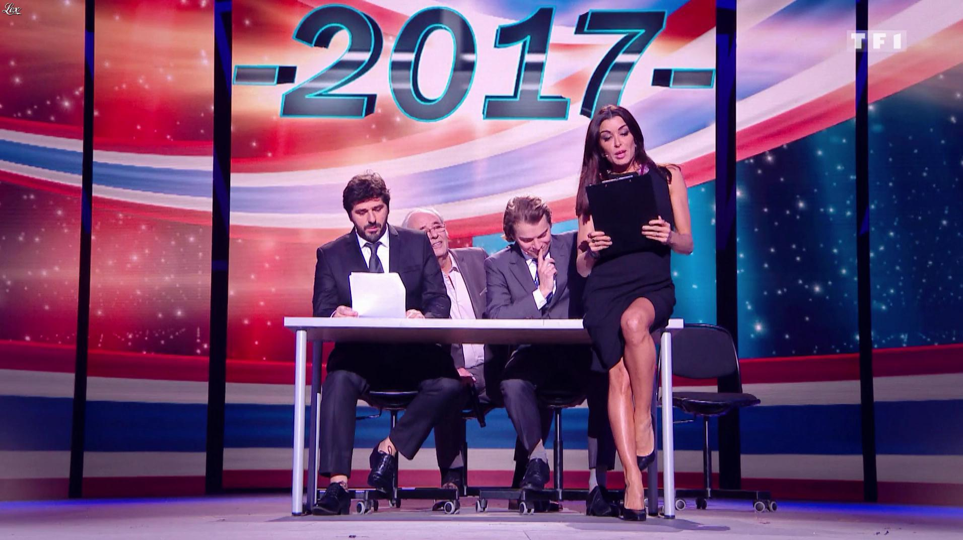 Jenifer Bartoli dans les Enfoires. Diffusé à la télévision le 03/03/17.