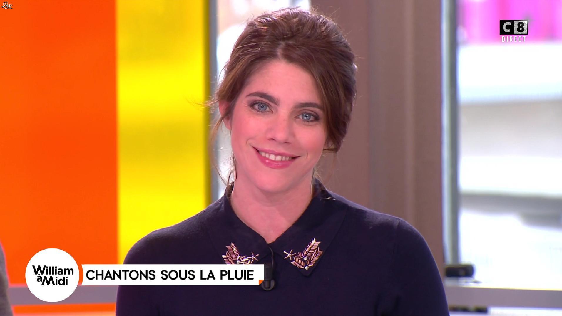 Julia Molkhou dans William à Midi. Diffusé à la télévision le 01/12/17.