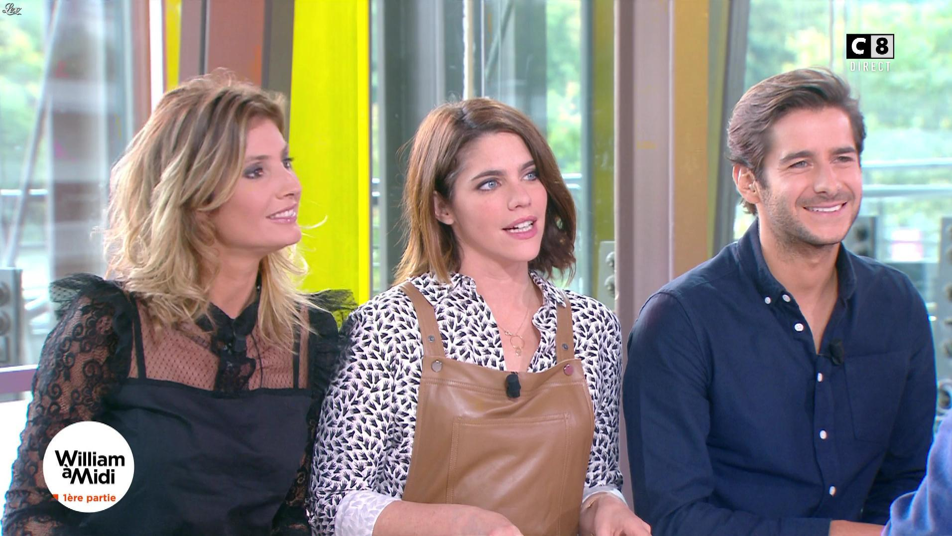 Julia Molkhou dans William à Midi. Diffusé à la télévision le 02/10/17.