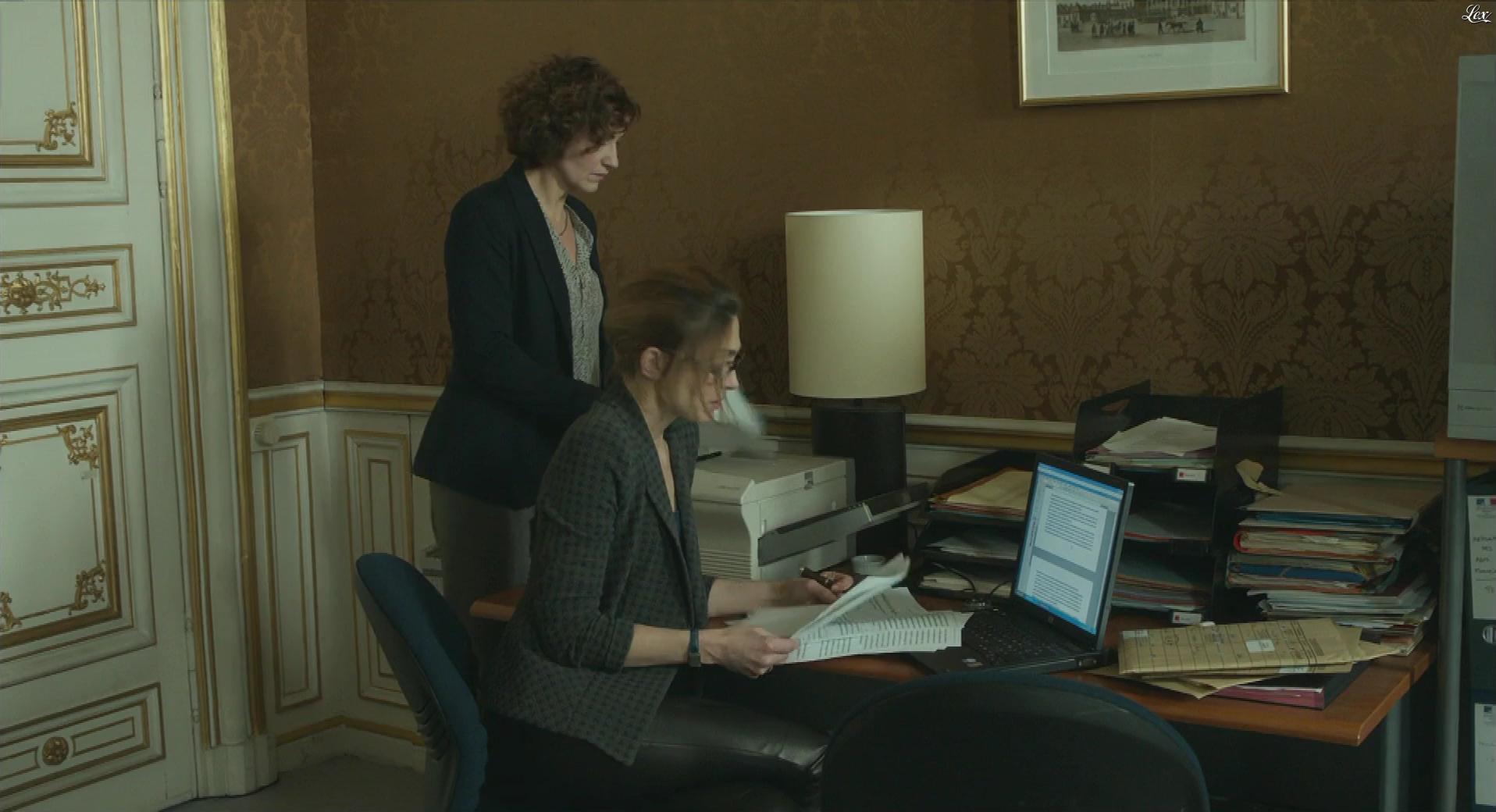 Julie Gayet dans Quai d'Orsay. Diffusé à la télévision le 19/03/17.