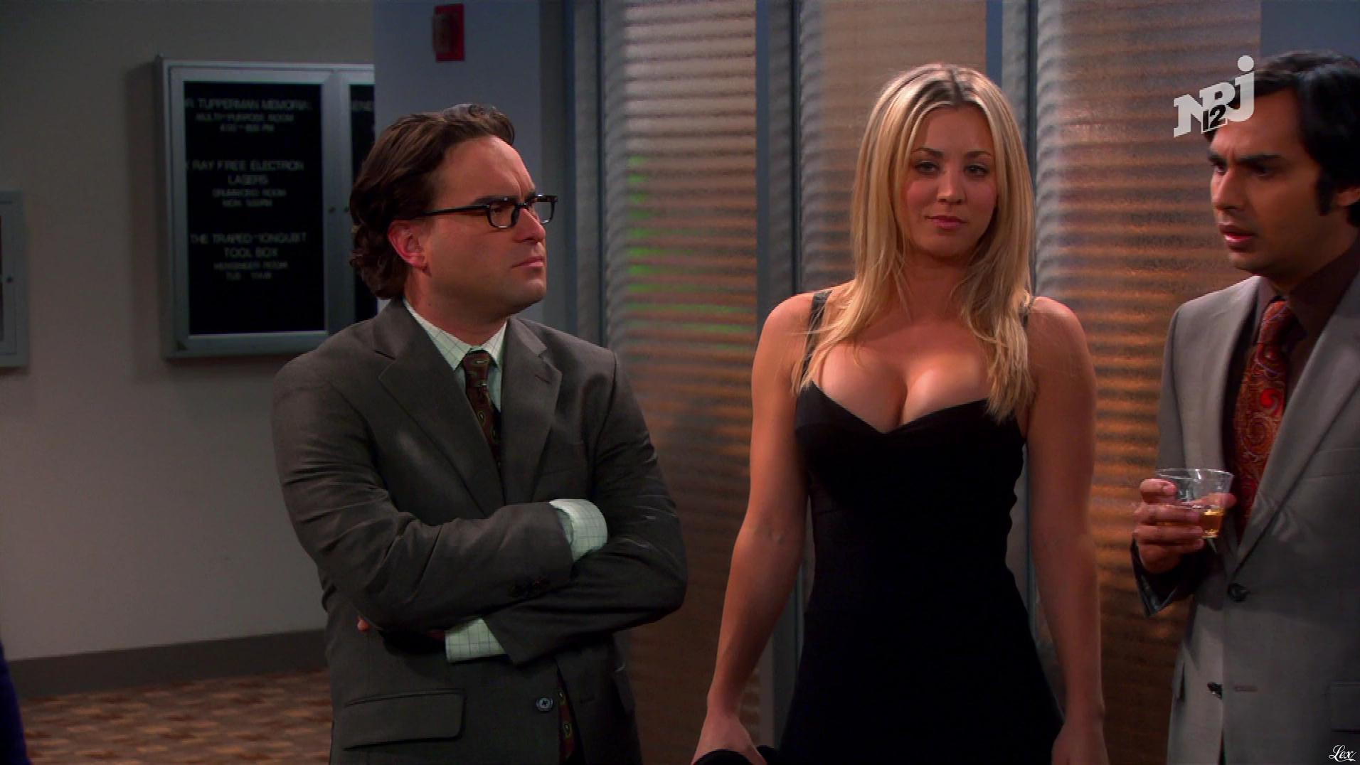 Kaley Cuoco dans The Big Bang Theory. Diffusé à la télévision le 08/01/18.