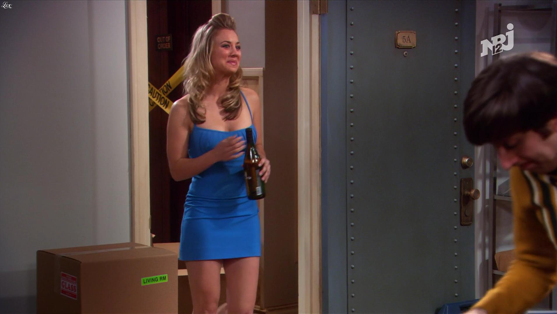 Kaley Cuoco dans The Big Bang Theory. Diffusé à la télévision le 27/01/18.