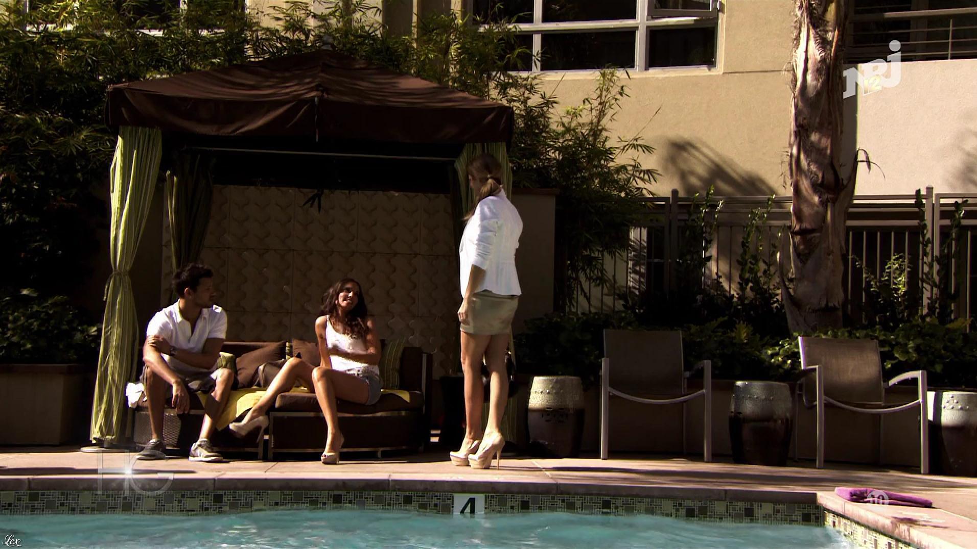 Laura Coll et Clara Morgane dans Hollywood Girls. Diffusé à la télévision le 27/11/17.