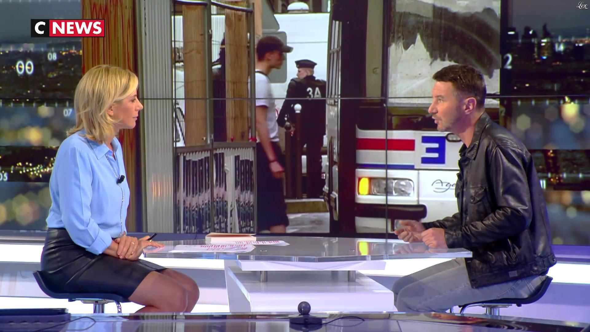 Laurence Ferrari dans Punchline. Diffusé à la télévision le 24/05/18.
