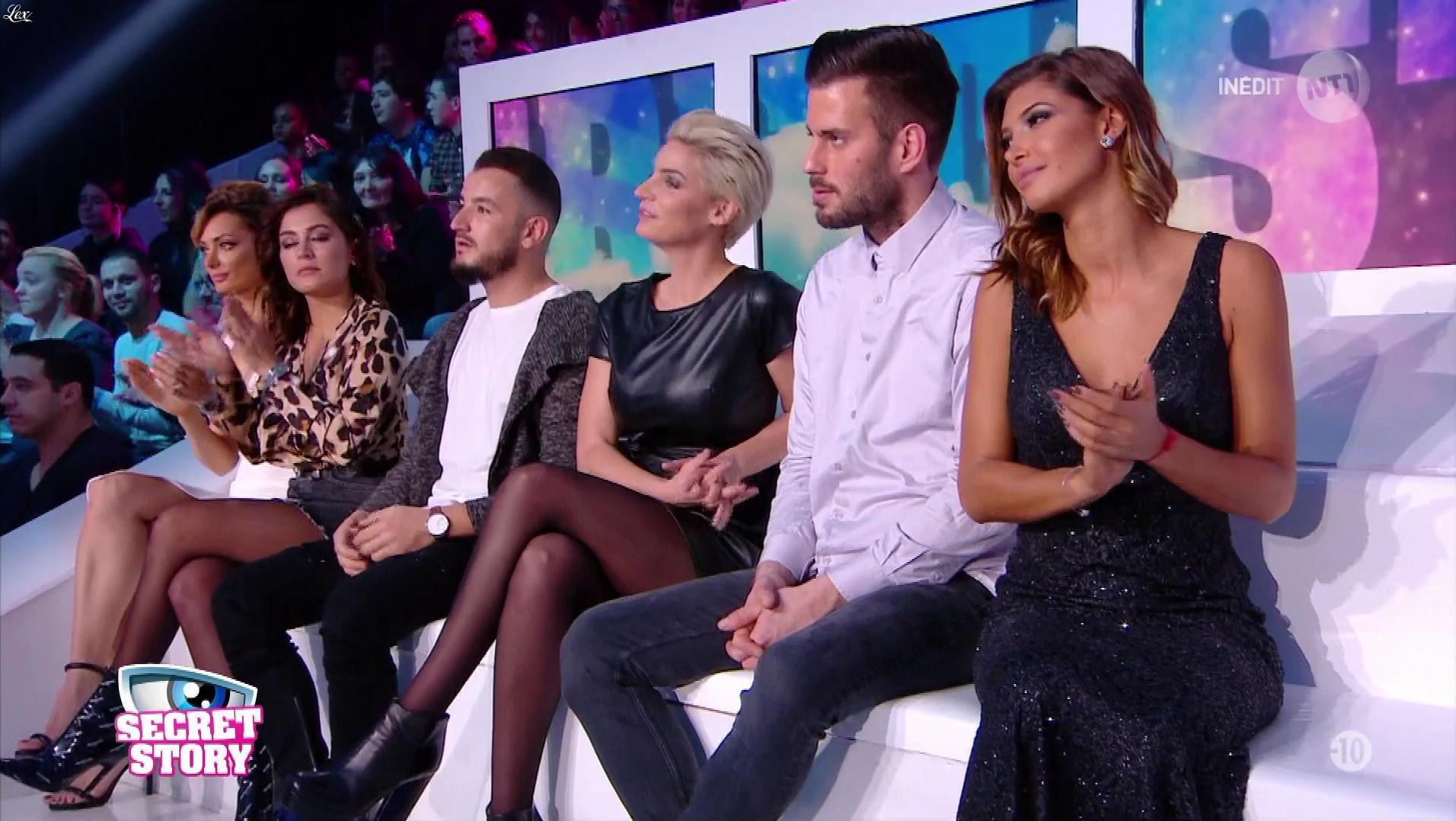 Nadege Lacroix dans Secret Story. Diffusé à la télévision le 23/11/17.
