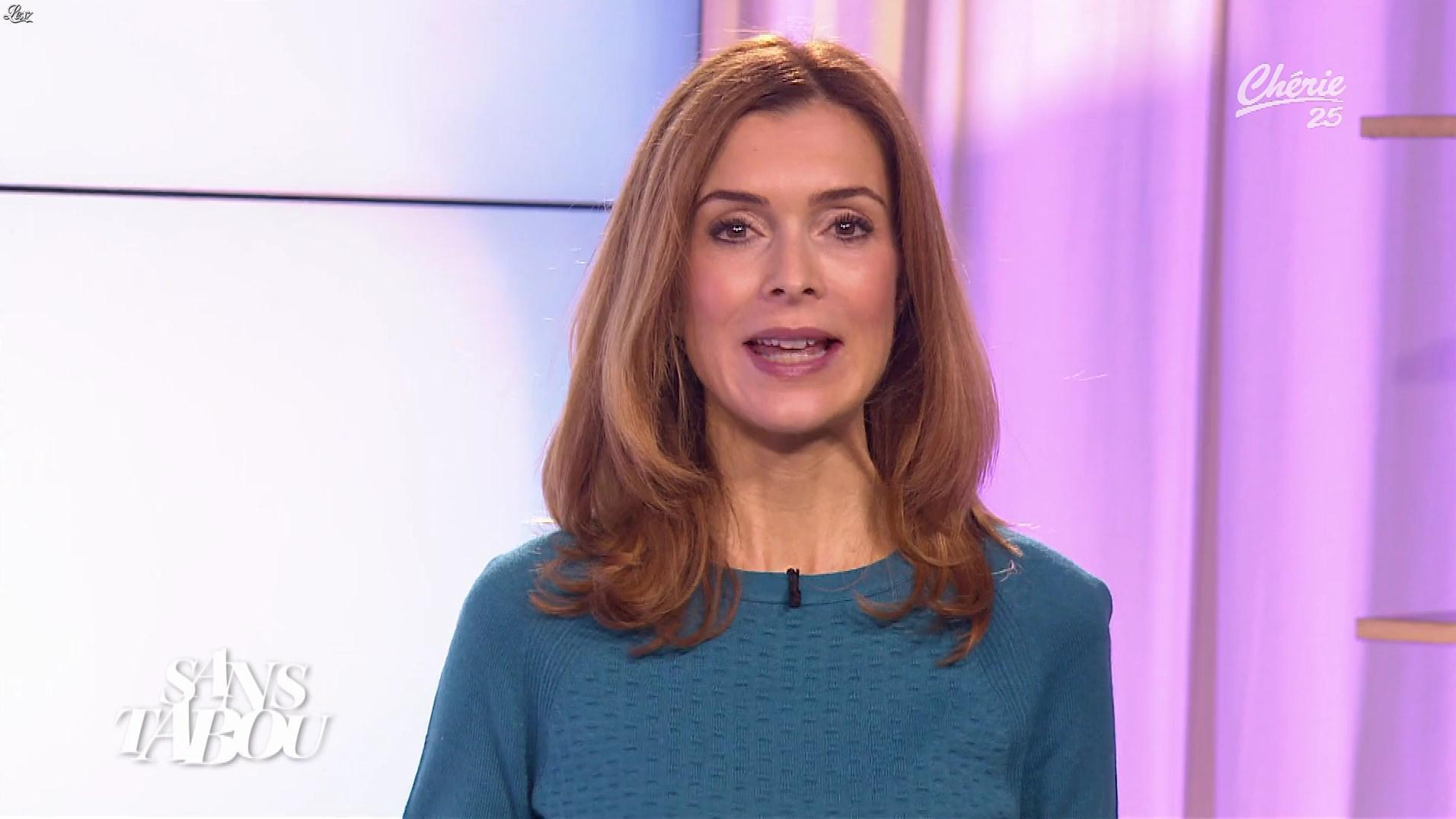 Véronique Mounier dans Sans Tabou. Diffusé à la télévision le 17/11/17.