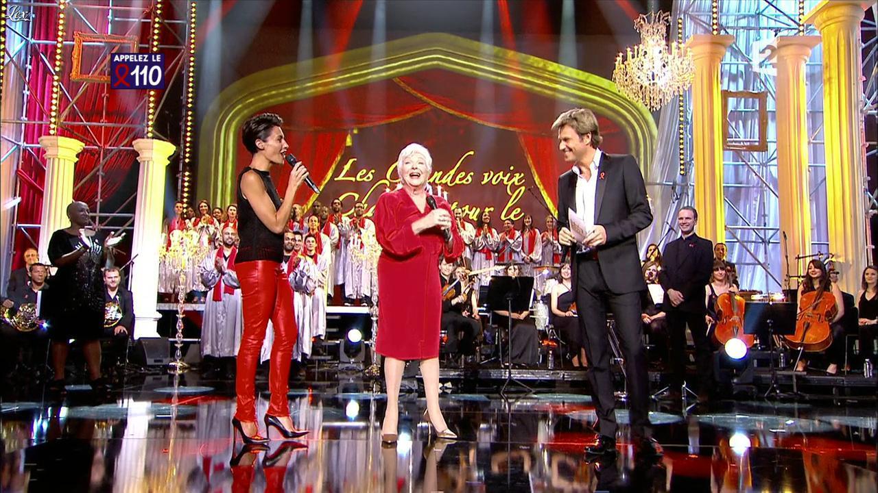 Alessandra Sublet dans Sidaction. Diffusé à la télévision le 02/04/11.