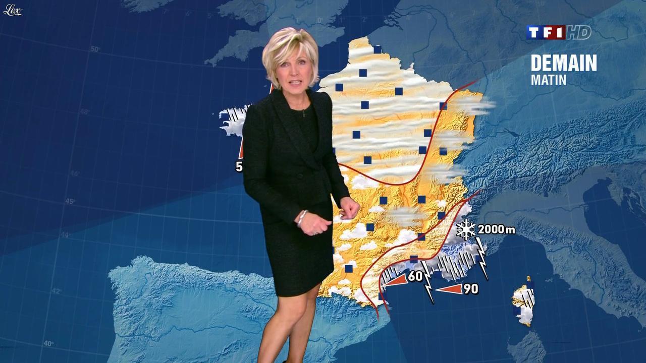 Evelyne dh liat dans la meteo de 20h 08 11 11 02 - Age evelyne dheliat meteo ...