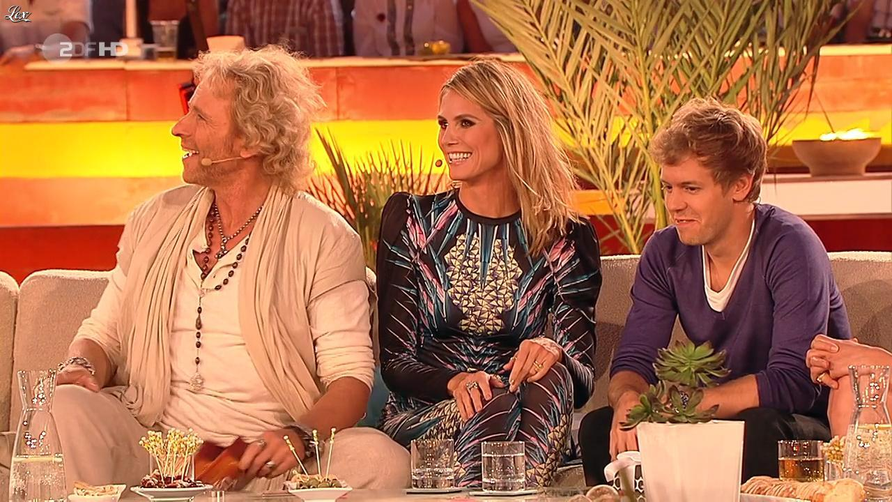 Heidi Klum dans Wetten Dass. Diffusé à la télévision le 18/06/11.
