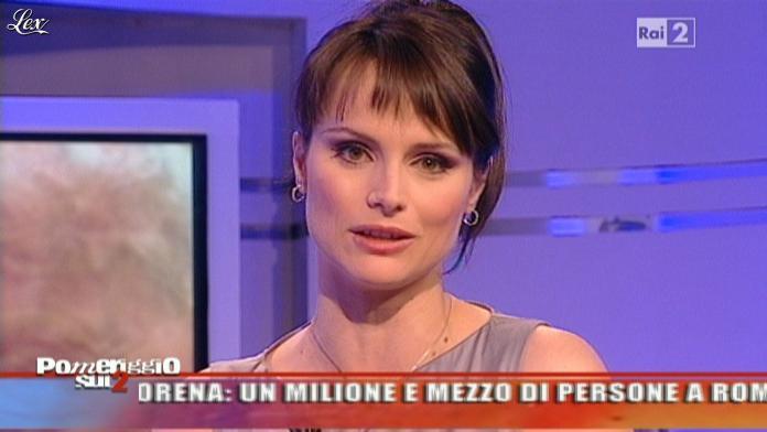 Lorena Bianchetti dans Dillo à Lorena. Diffusé à la télévision le 02/05/11.